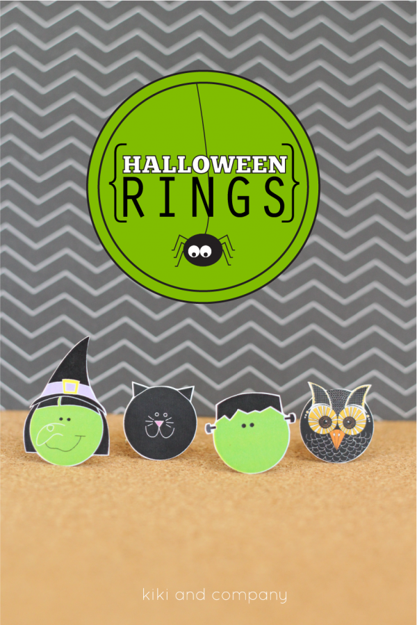 Halloween Rings from kiki and company.