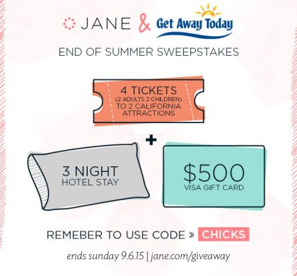 End of Summer Vacation Giveaway