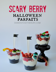 Scary Berry Halloween Parfaits from Shaken Together