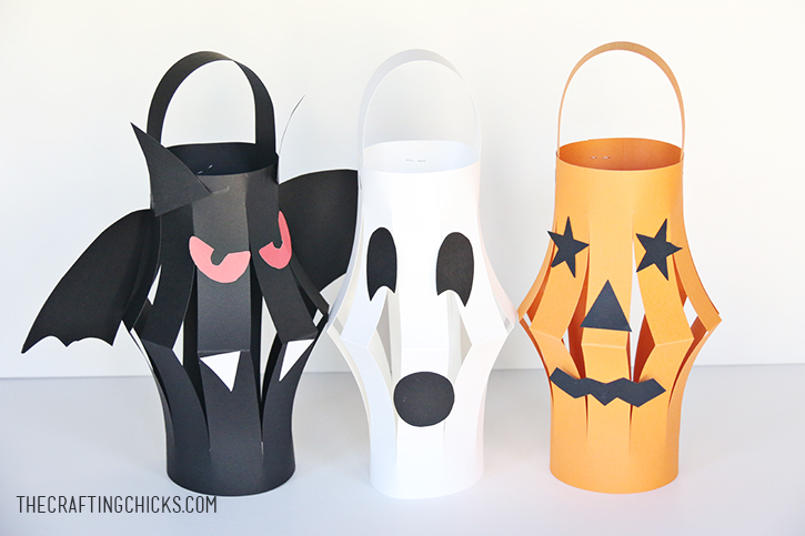 Halloween Lantern kid craft