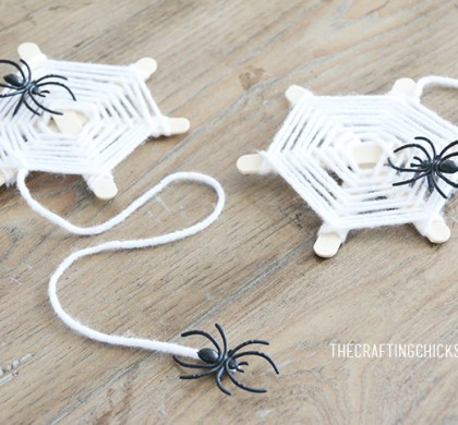 Spider Web Yarn Kid Craft