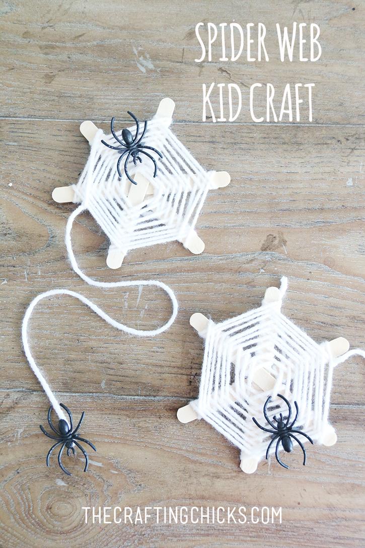 Spider Web Yarn Kid Craft