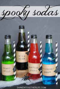 Spooky Sodas from Shaken Together