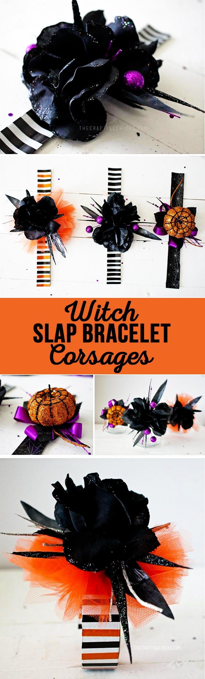Witch Slap Bracelet Corsages
