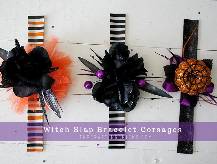 DIY Witch Corsages