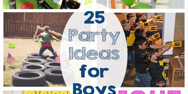 Party Ideas for Boys