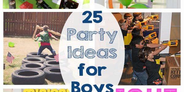 Party Ideas for Boys
