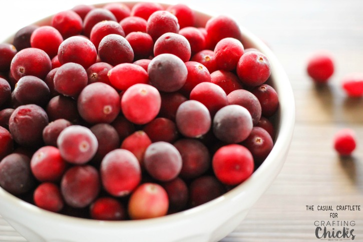 Easy to make Cranberry Sauce