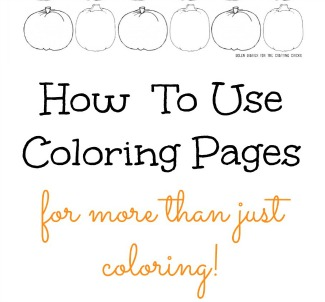 Learning Fun With Coloring Pages