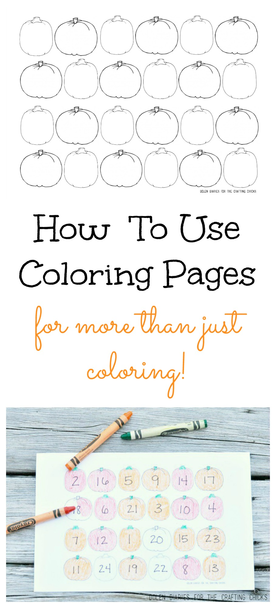 How To Use Coloring Pages For More Than Just Coloring