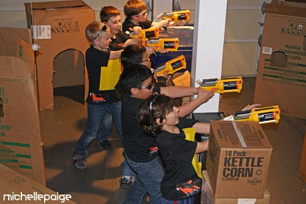 Boy Party - Nerf Party