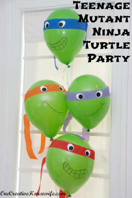 Boy Party - Teenage Mutant Ninja Turtle Party