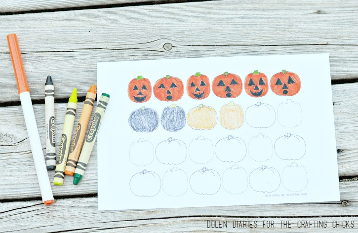 Patterning with Coloring Pages