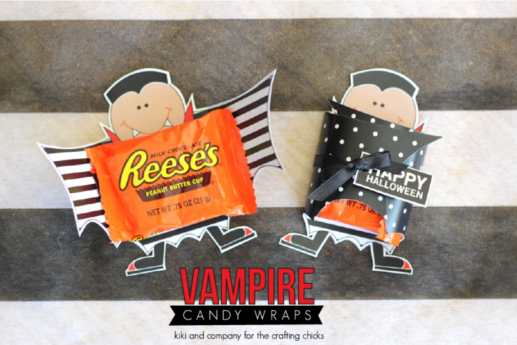 Vampire Candy Wrap from kiki and company at the crafting chicks. Cute!
