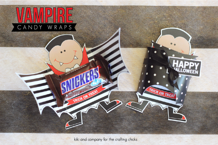 Vampire Candy Wrap from kiki and company at the crafting chicks. LOVE!