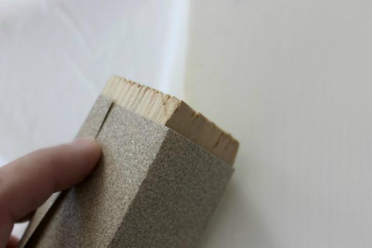 distressing a board
