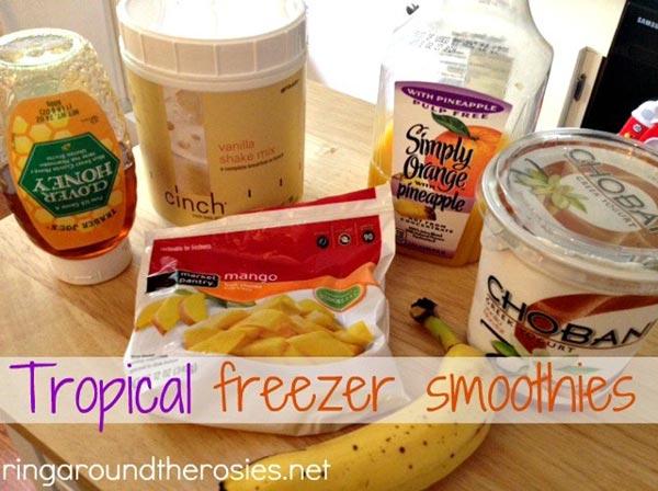 Freezer Smoothies