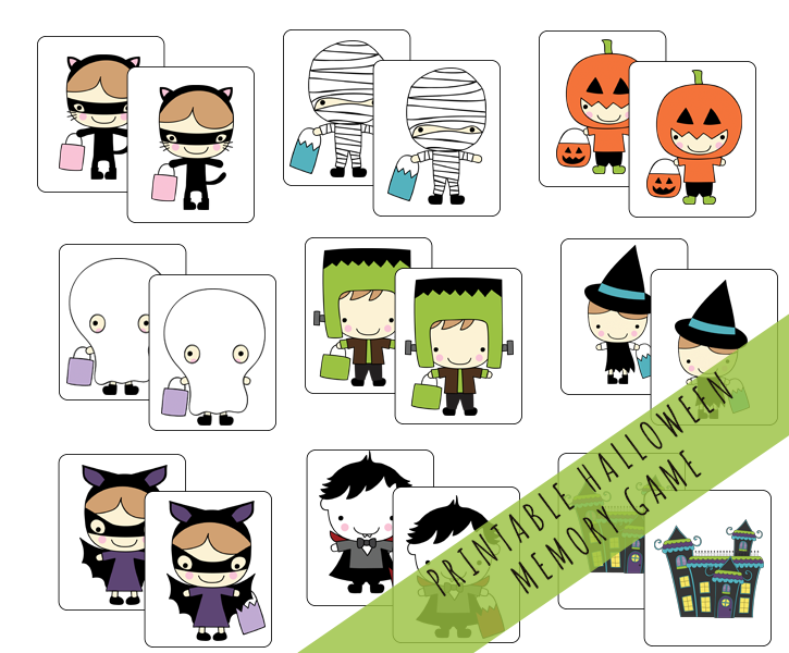 photo about Hedbanz Cards Printable referred to as Halloween HedBanz - The Producing Chicks