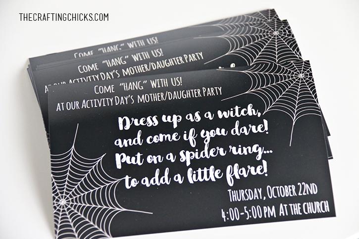 sm halloween party invite 2