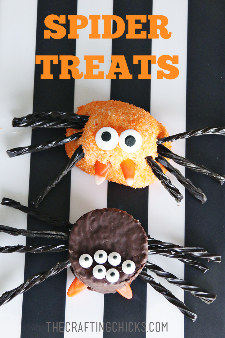 Halloween Spider Treats are perfect for Halloween class parties