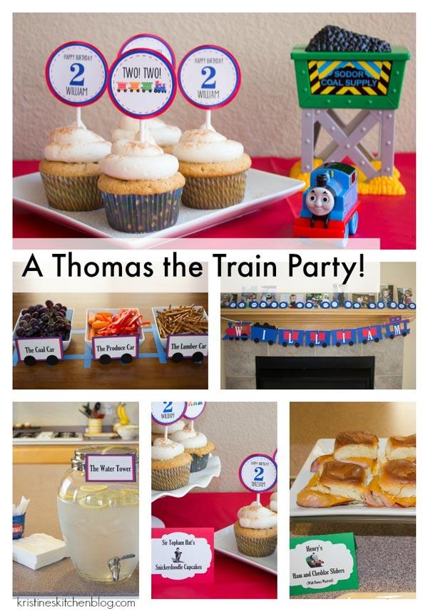 Boy Party - Thomas the Train