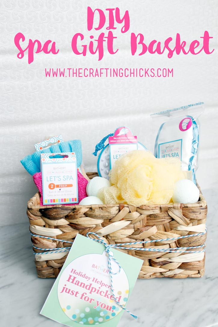 Diy spa gift basket negle Gallery