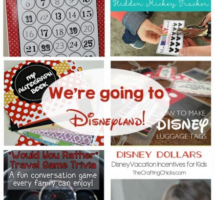 Disney Vacation Ideas and Printables
