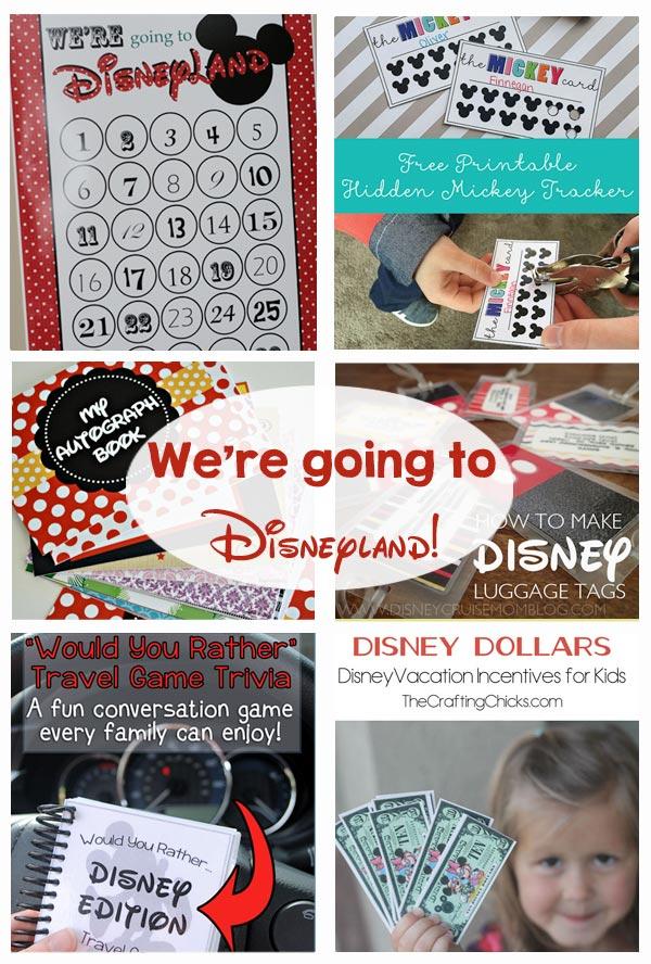 graphic relating to Printable Disney Autograph Book identified as Disney Holiday vacation Strategies and Printables - The Composing Chicks