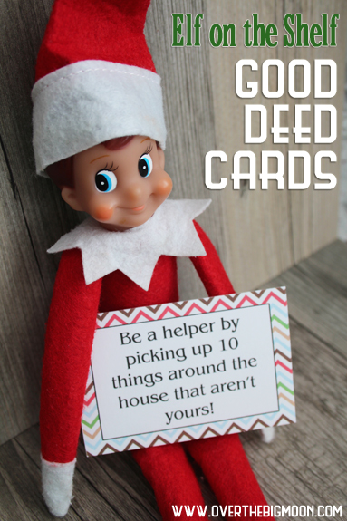 15 fabulous Elf on the Shelf printables - These will make my life so much easier!