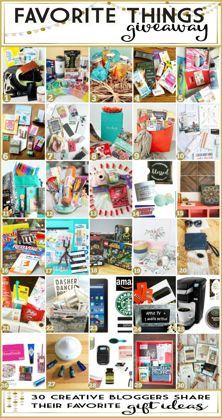 Favorte Things Giveaway and Gift Ideas for the Holidays-2