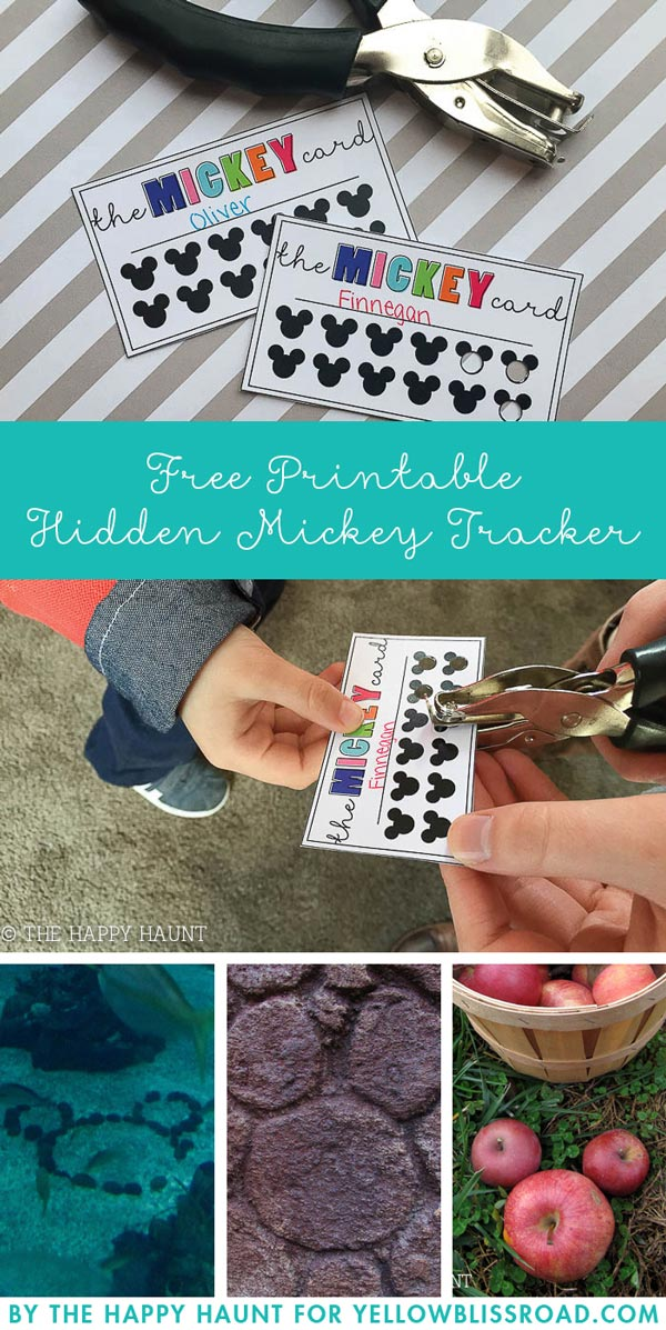 hidden mickey printable