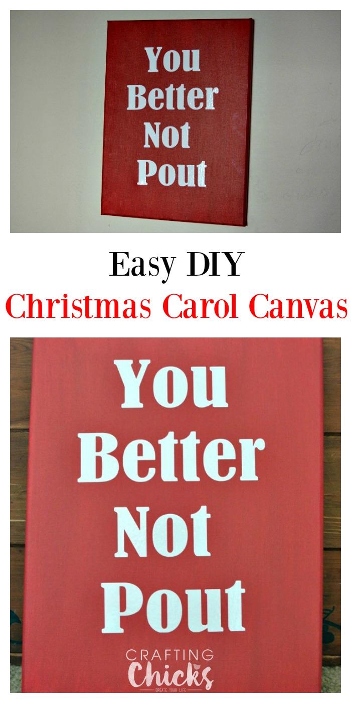 Easy DIY Christmas Carol Craft   The Crafting Chicks