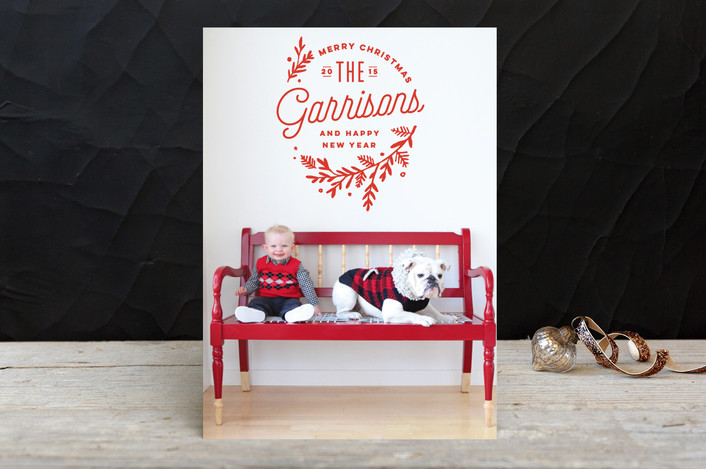 Christmas Cards 2015 & a Minted Giveaway!