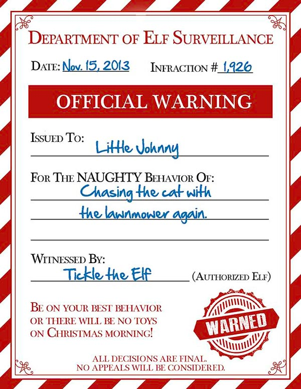 photograph regarding Printable Elf on the Shelf Letter called Elf upon the Shelf Printables - The Producing Chicks