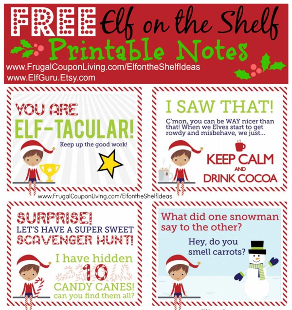 picture relating to Elf on the Shelf Printable identified as Elf upon the Shelf Printables - The Writing Chicks