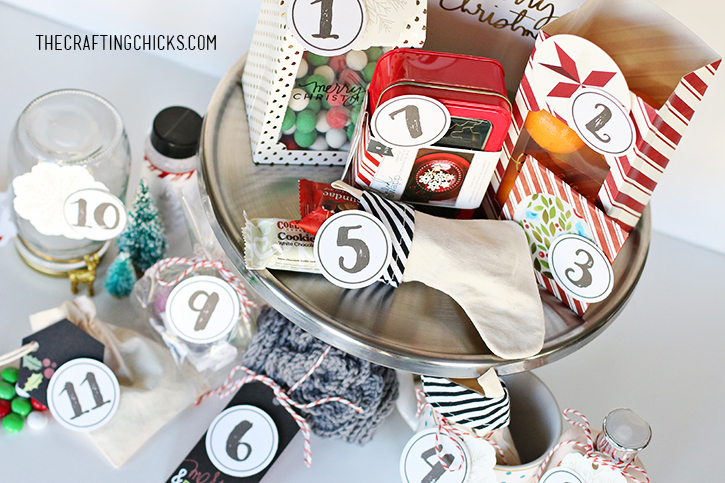 Gifts ideas for the 12 days of christmas