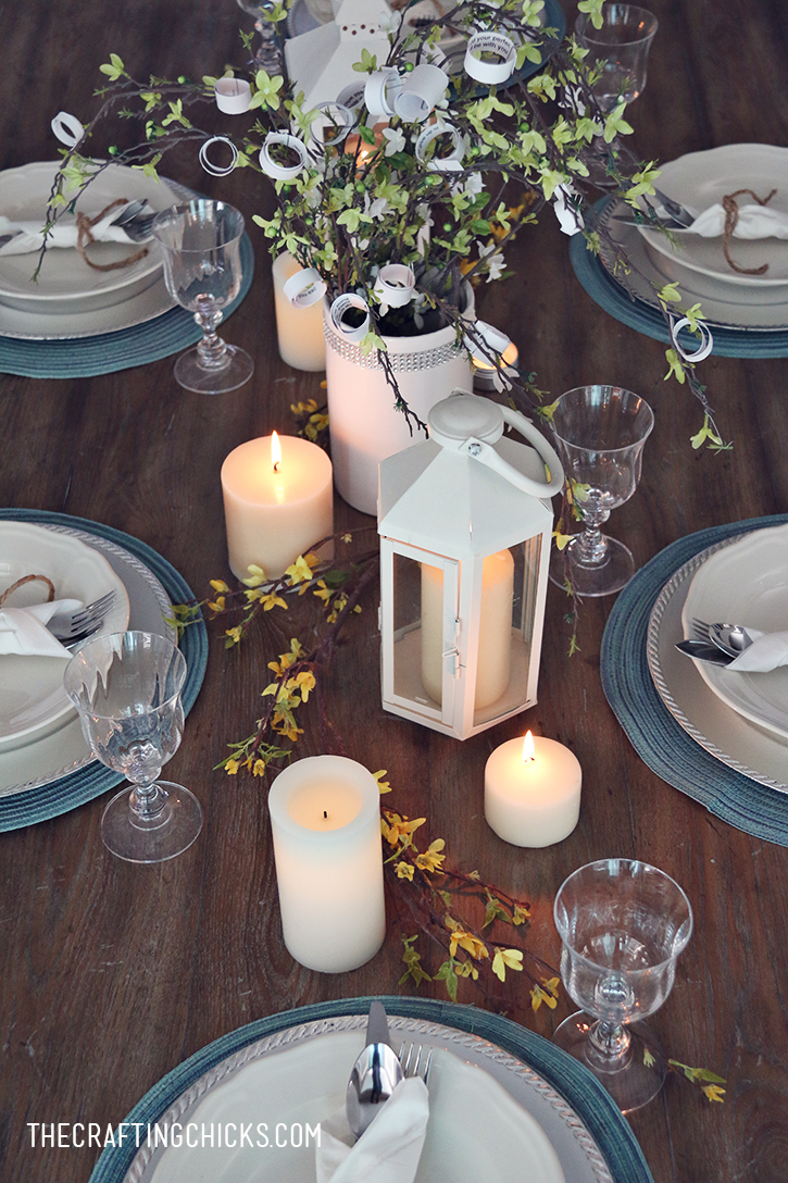 Italian Candlelight Dinner Idea with Bertolli