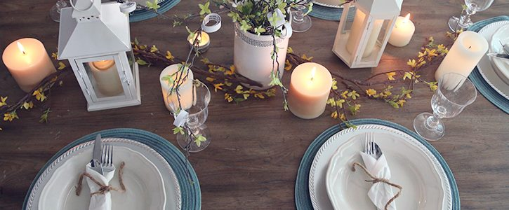 Italian Candlelight Dinner Idea with Bertolli