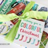 Coloring Book Gift Idea & Free Printable