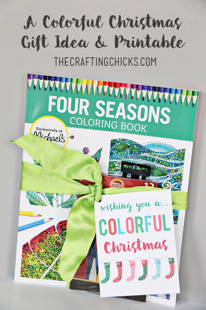 Colorful christmas gift ideas