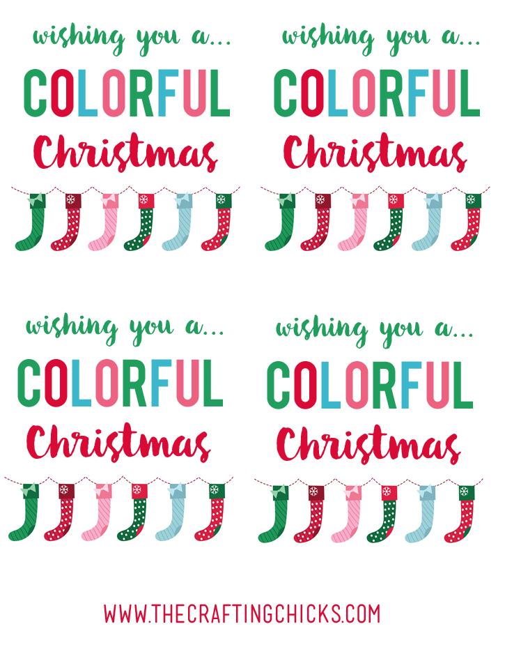 sm colorful christmas