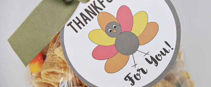 Free Printable Thankful Tags