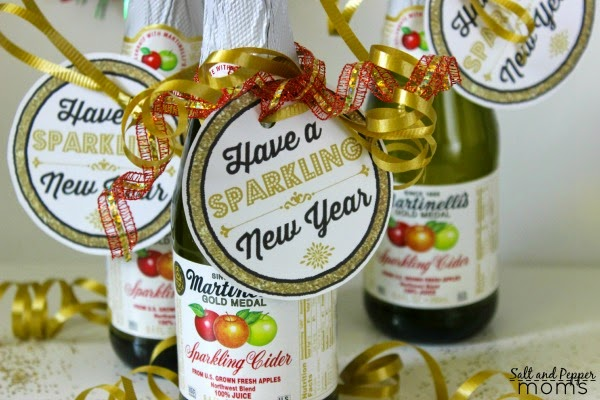 Have a Sparkling New Year - Gift Tag