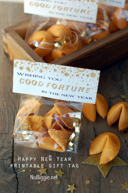 New Year's gift bag