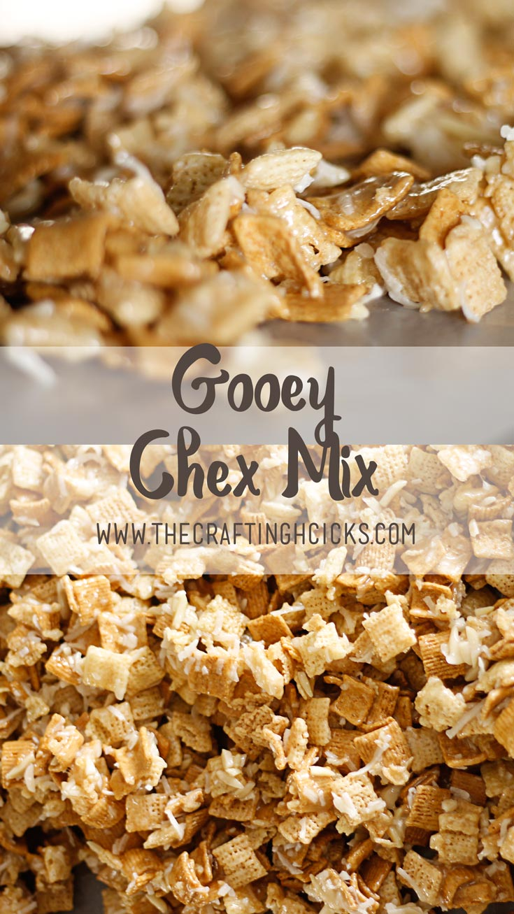 Gooey Chex Mix recipe