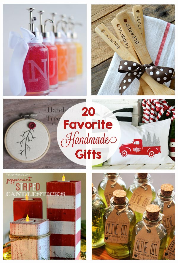 Favorite handmade christmas gifts the crafting chicks Homemade christmas gifts