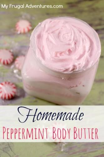 Homemade Peppermint Body Butter