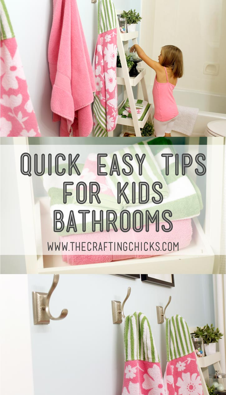 Diy Kids Bathroom Decor quick easy tips for kids bathrooms