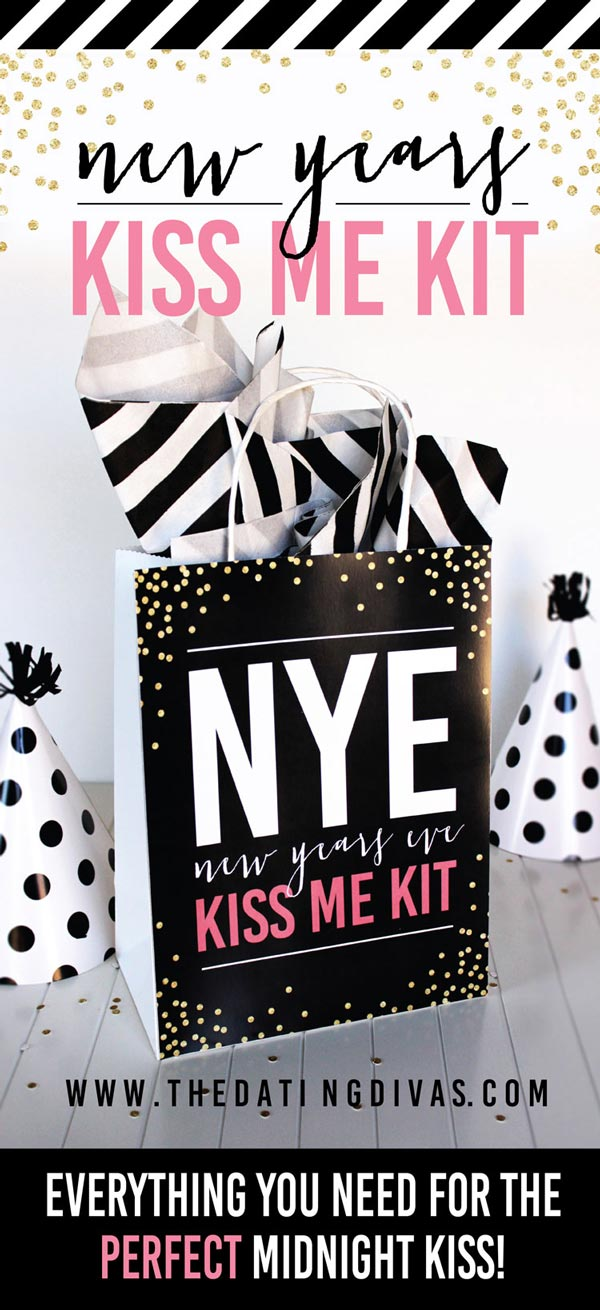 New Year's Eve Kiss Me Kit