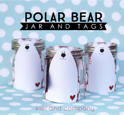 Polar Bear Jar and Tags